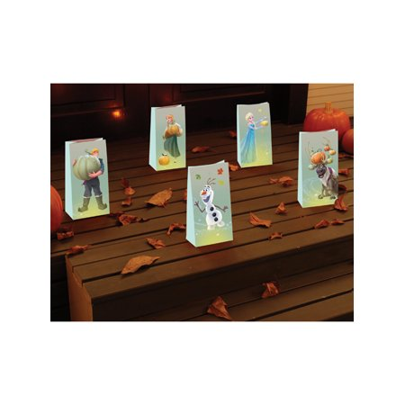 Disney Frozen Halloween Luminaries Bag Decorations (Disney Tv Schedule For Halloween)