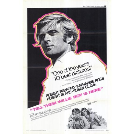 Tell Them Willie Boy Is Here Movie Poster  11 X 17