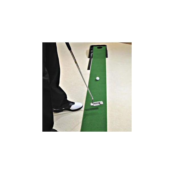 Indoor Putting Green With Ball Return