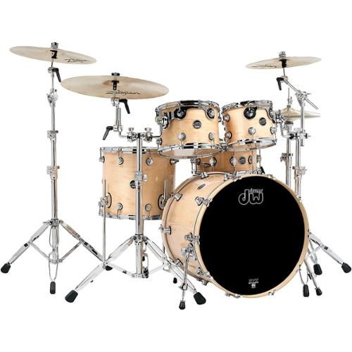 DW Performance Series Natural Shell Pack with Chrome Hardware by DW