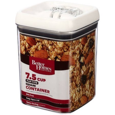 Better Homes And Gardens 7 5 Cup Square Containers