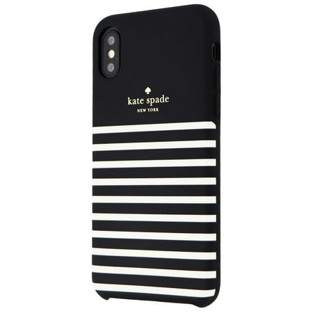 Kate Spade Soft Touch Case for Apple iPhone XS and X - Feeder Stripe - Kate Spade Stripes