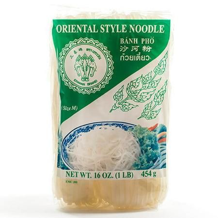 Banh Pho (Pad Thai) Noodles by Erawan (16 ounce)