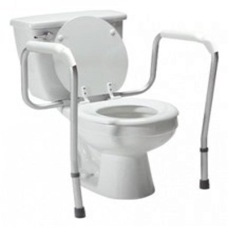 Lumex 6460a Versaframe Toilet Safety Rail With Adjustable