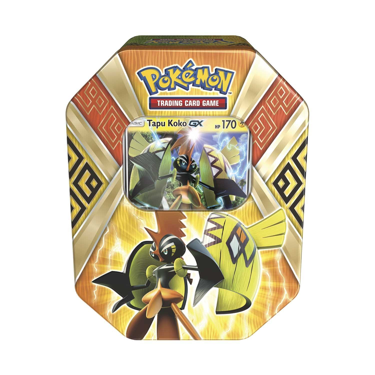 Pokemon Tcg Island Guardians Tin Card Game You Will Receive At Random A Tin Containing 1 Of 2 Foil Pokemon Gx Cards Tapu Koko Gx Or Tapu Bulu Gx By Pokmon Walmart Com Walmart Com