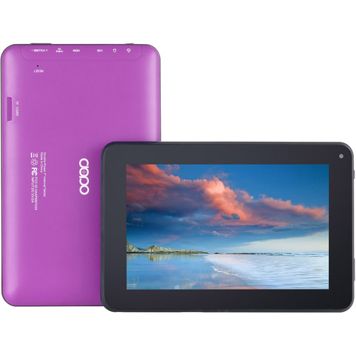 Refurbished Double Power EM63-PUR - 7 in Google Certified Tablet - 8GB - Purple