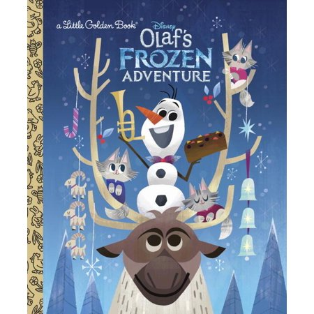 Little Golden Book: Olaf's Frozen Adventure Little Golden Book (Disney Frozen) (Hardcover) (Easy Reader Frozen)