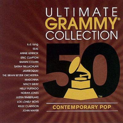 Ultimate Grammy Collection   Contemporary Pop  Cd