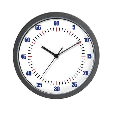 """CafePress - Swim Pace - Unique Decorative 10"""" Wall Clock"""