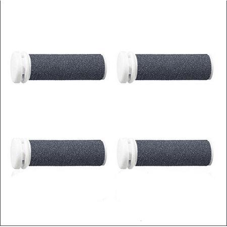 Emjoi Micro-Pedi Refill Rollers (Extra Coarse) - Pack of 4 (Emjoi Micro Pedi Nano Rollers)