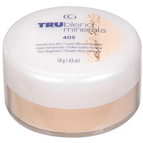 Covergirl TRUblend Minerals Loose Powder, TRANSLUCENT FAIR 405
