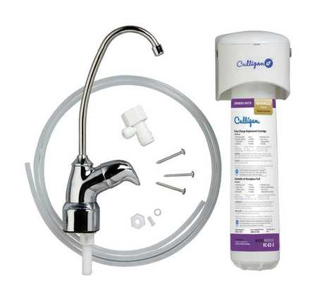 Culligan US-EZ-3 1/4In NPT Water Filter System, 0.5gpm