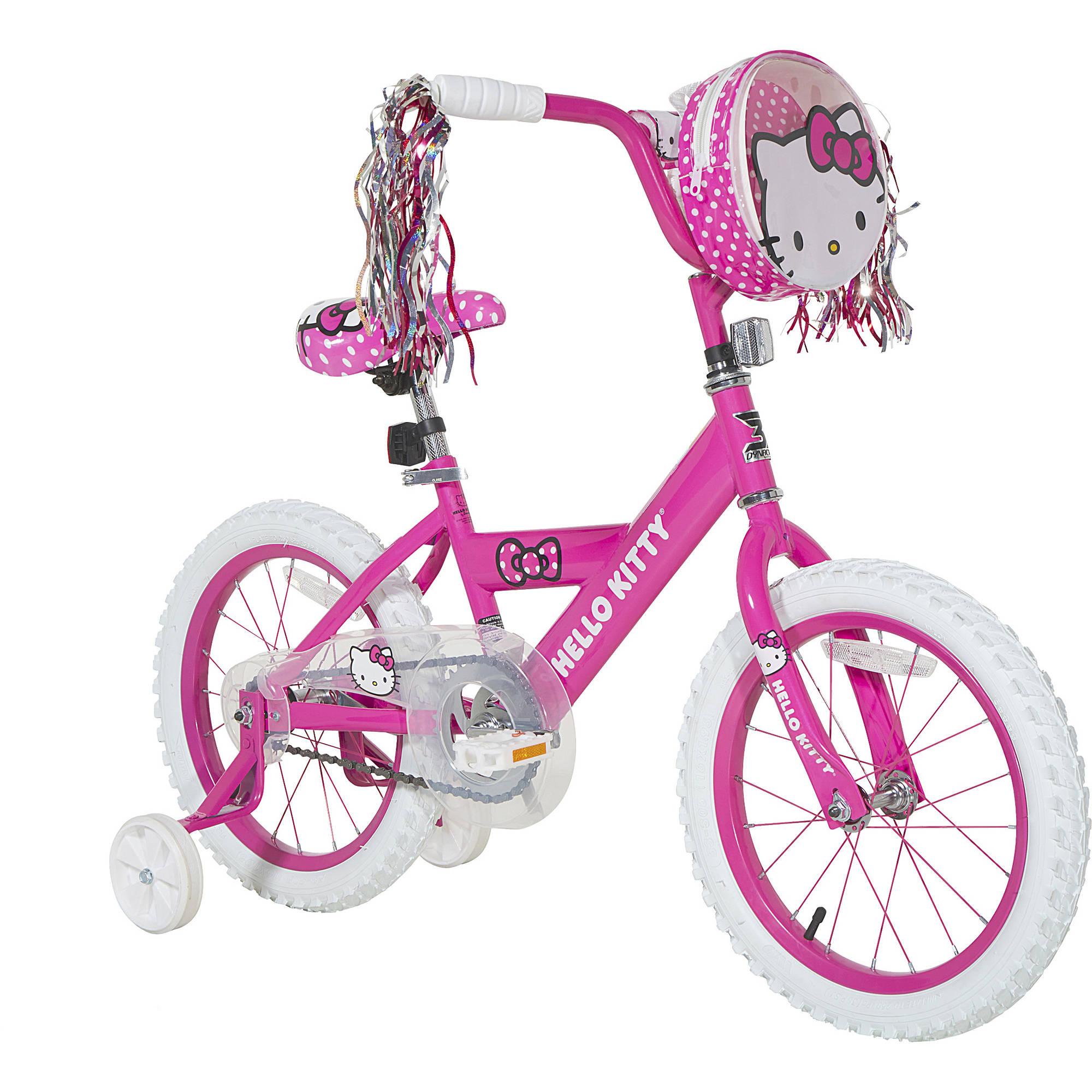 Hello Kitty 16 Dynacraft Girls Hello Kitty Bike Walmartcom