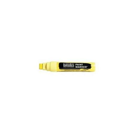 Liquitex Paint Marker, Wide, 15mm Nib, Cadmium Yellow Light Hue