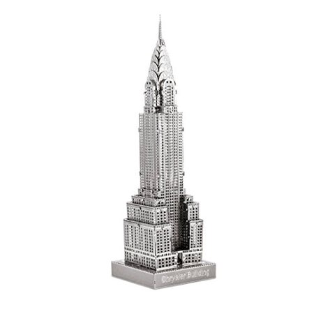 Metal Earth Fascinations ICX014502881, Chrysler Building Construction Toy 1Metal Board 14Years - image 1 of 1