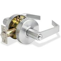 Master Lock, MLKSLCHSR26D, Heavy-duty Storeroom Lever, 1 Each, Chrome