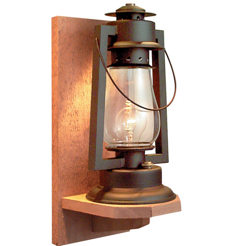Sutter's Mill Lantern Co. Pioneer Series 1 Light Outdoor Sconce