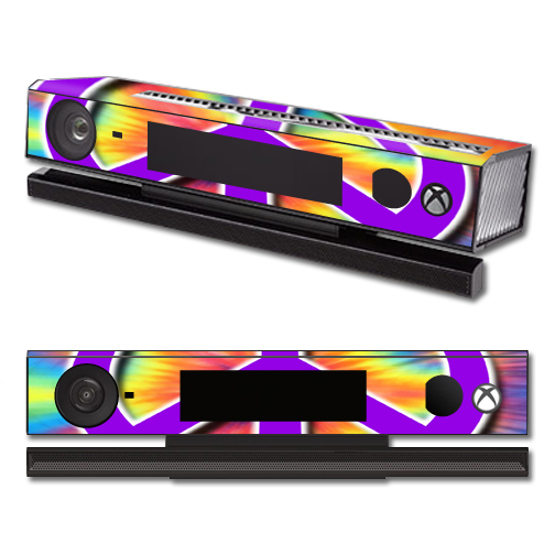 Mightyskins Protective Vinyl Skin Decal Cover for Microsoft Xbox One Kinect wrap sticker skins Hippie Time