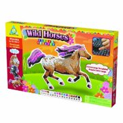 The Orb Factory Limited Sticky Mosaics Wild Horses Multi-Colored