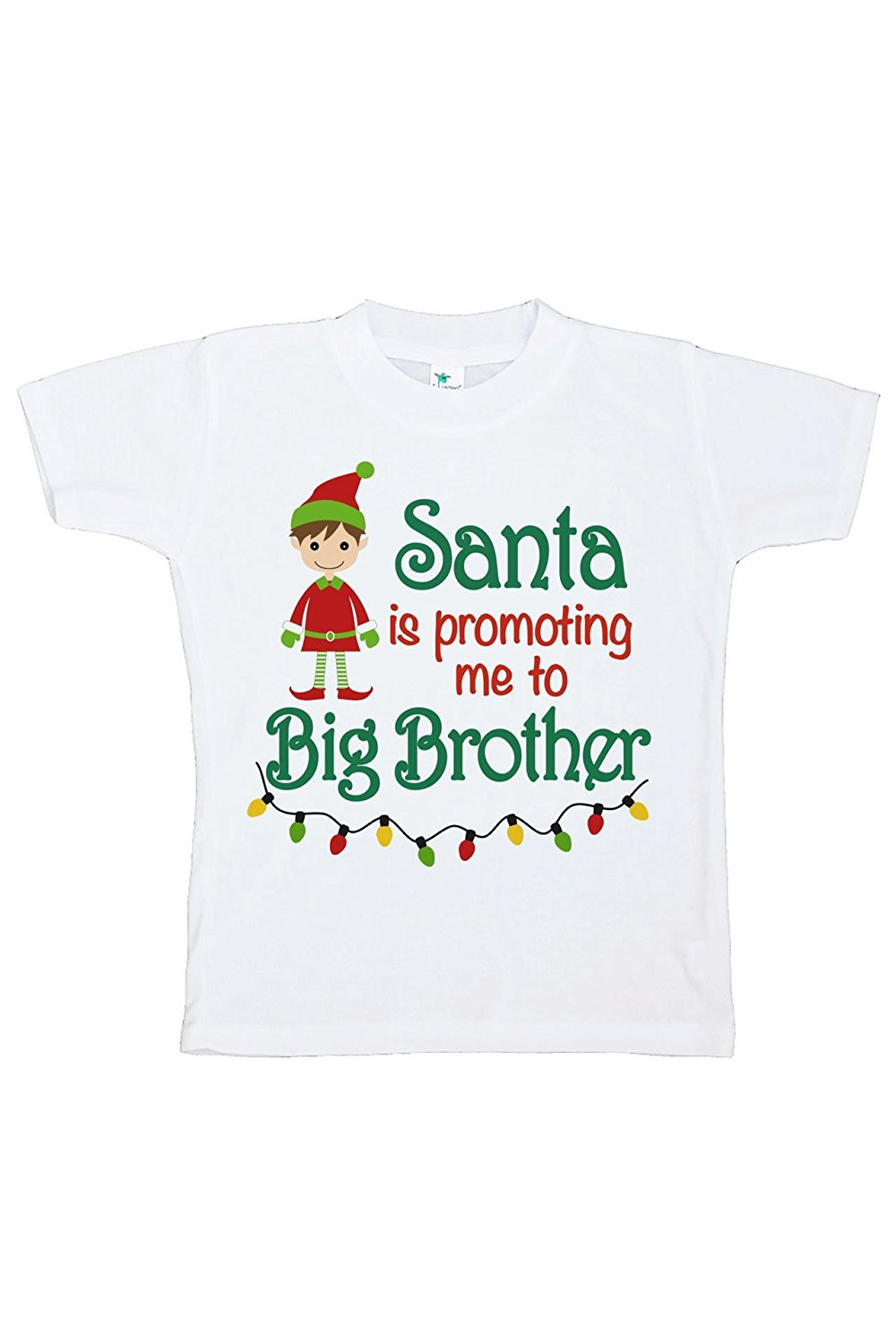Custom Party Shop Youth Big Brother Christmas T-shirt - Small (6-8) T-shirt