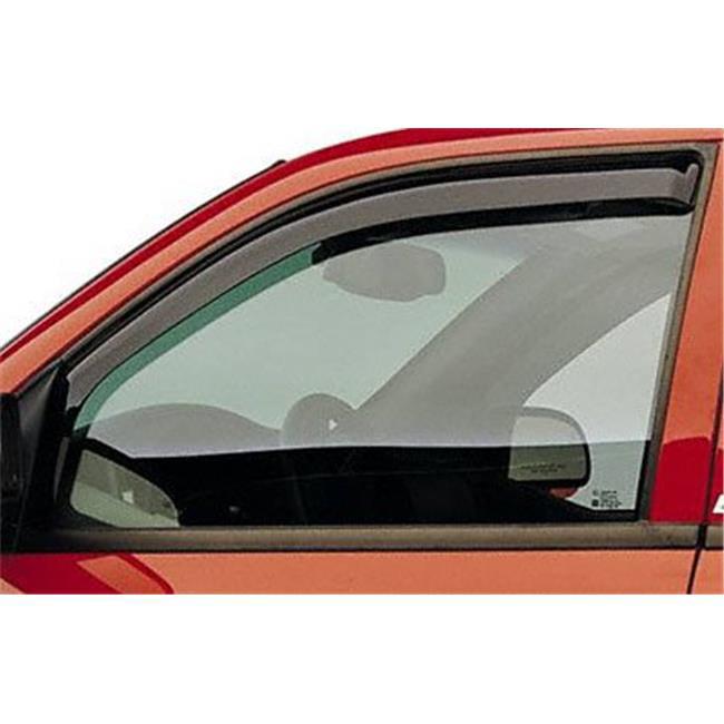 EGR 563411 Slimline In-Channel Window Visors - Smoke, 2 Piece