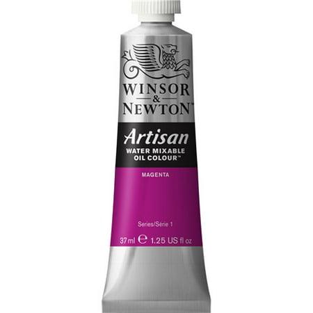 - Winsor & Newton Artisan Water Mixable Oil Color: Magenta, 1.25 fl oz