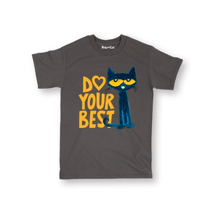 Pete The Cat Pete Do Your Best  - Adult Short Sleeve
