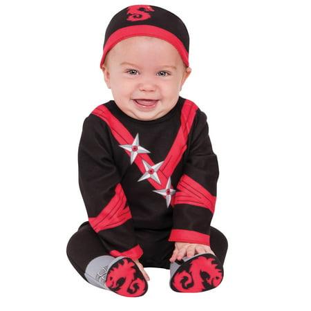 Boys Infant Todder Baby Ninja Costume - Baby Ninja