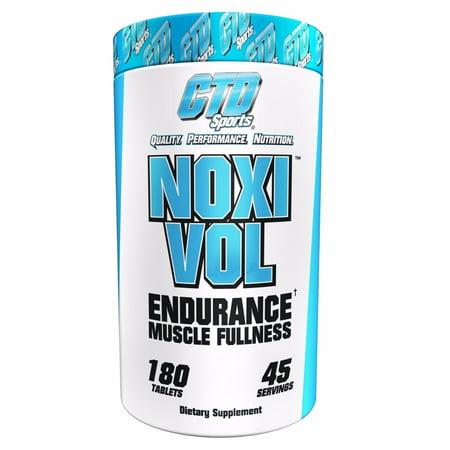 CTD Sports NOXIVOL pump Muscle Growth Strength Vascularity 180