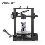 Creality 3D CR-6 SE Upgraded High 3D Printer DIY Kit Printing Size 235*235*250mm with 4.3in HD Color Touchscreen Silent Motherboard 8G SD Card PLA Sample Fialment Support Auto Leveling Resume Printi