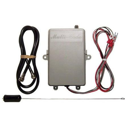 Multi code 1099 50 garage door opener or gate 12 volt for 12 volt door opener