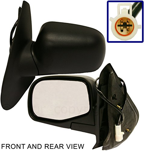 FORD EXPLORER SPORT TRAC 01-05 SIDE MIRROR LEFT DRIVER, POWER, FOLDING, KOOL-VUE