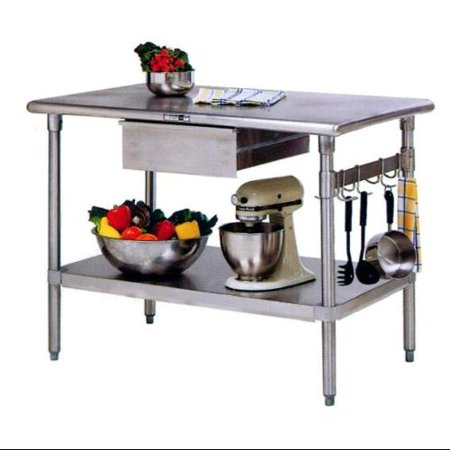 Stainless Steel Kitchen Work Table Island Cucina Forte