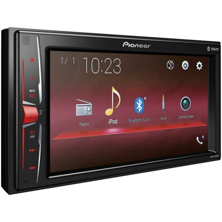 "Pioneer MVH-200EX 6.2"" Double-DIN In-Dash Digital Media & A/V Receiver with Bluetooth"
