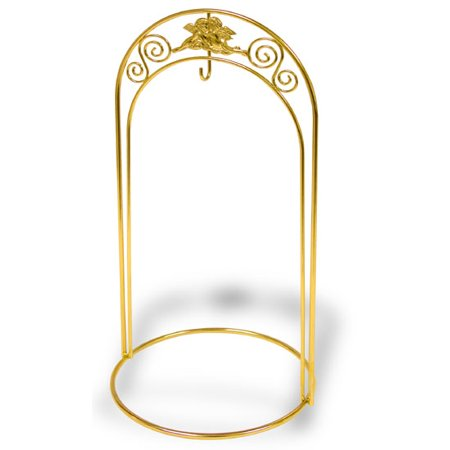 Ornament Display Stand With Double Arch And Center Hook