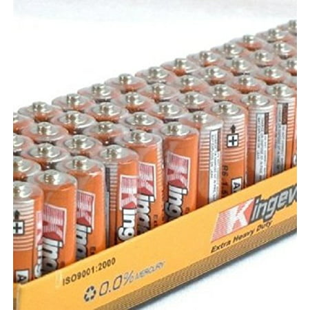 100 Pack Aa Batteries Extra Heavy Duty 1.5v Wholesale Lot New (Aa Top 100)