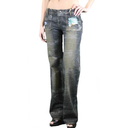 Stonewashed Jeans - CUSTO BARCELONA Women's William Sontran Stonewashed Jeans N13064