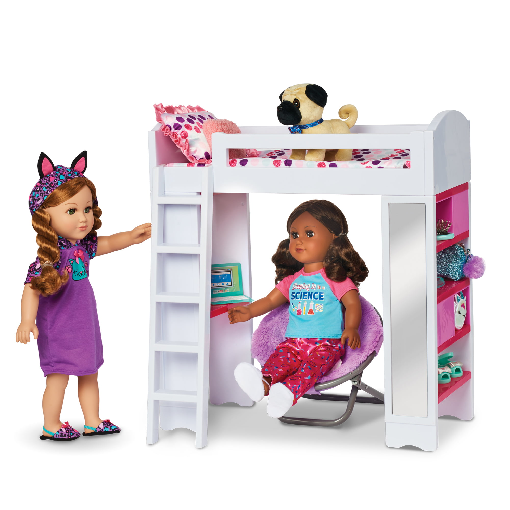 Baby Doll Bunk Bed With Closet Image Of Bathroom And Closet