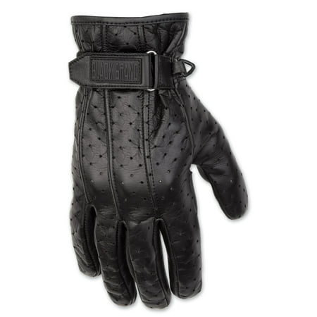 Harley Leather Gloves (Black Brand Men's  Men's Filter Leather Gloves )