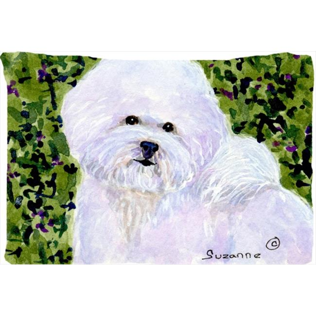 Carolines Treasures SS8817PILLOWCASE 20.5 x 30 in. Bichon Frise Moisture Wicking Fabric Standard Pillowcase - image 1 de 1