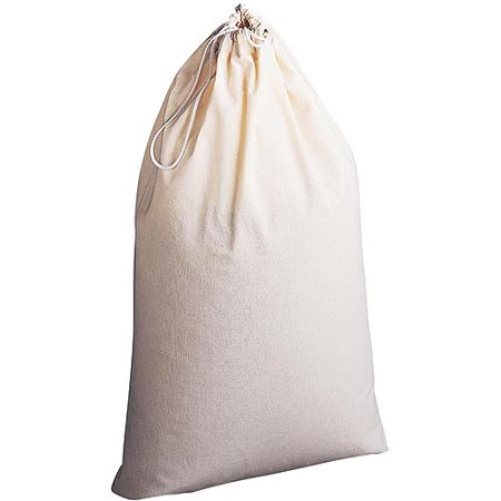 Extra-Large Laundry Bag, Natural Cotton - Walmart.com
