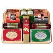 An Executive Man Variety Sausage and Cheese Gift Set | Fathers Day Meat and Cheese Gift
