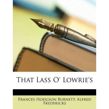 That Lass O' Lowrie's - image 1 de 1