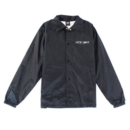 Obey NEW Black Mens Size Small S Button Down Windbreaker Jacket ...