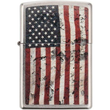 Zippo Regular Distressed Americana Windproof -