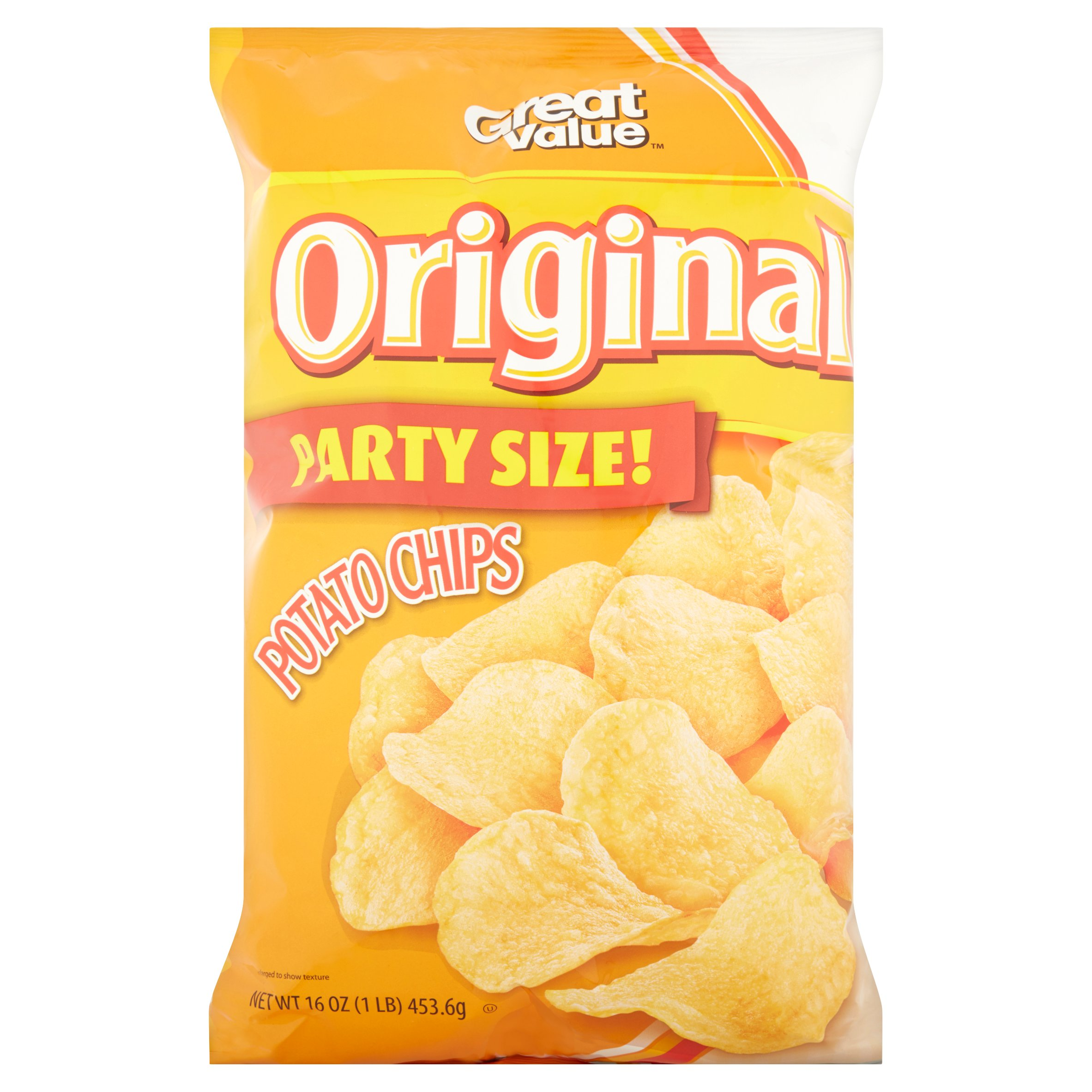 Great Value Original Potato Chips, 16 oz by Wal-Mart Stores, Inc.