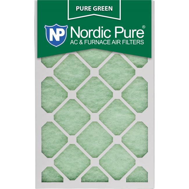 Nordic Pure 15x20x1 Pure Green Eco-Friendly AC Furnace Air Filters 6 Pack
