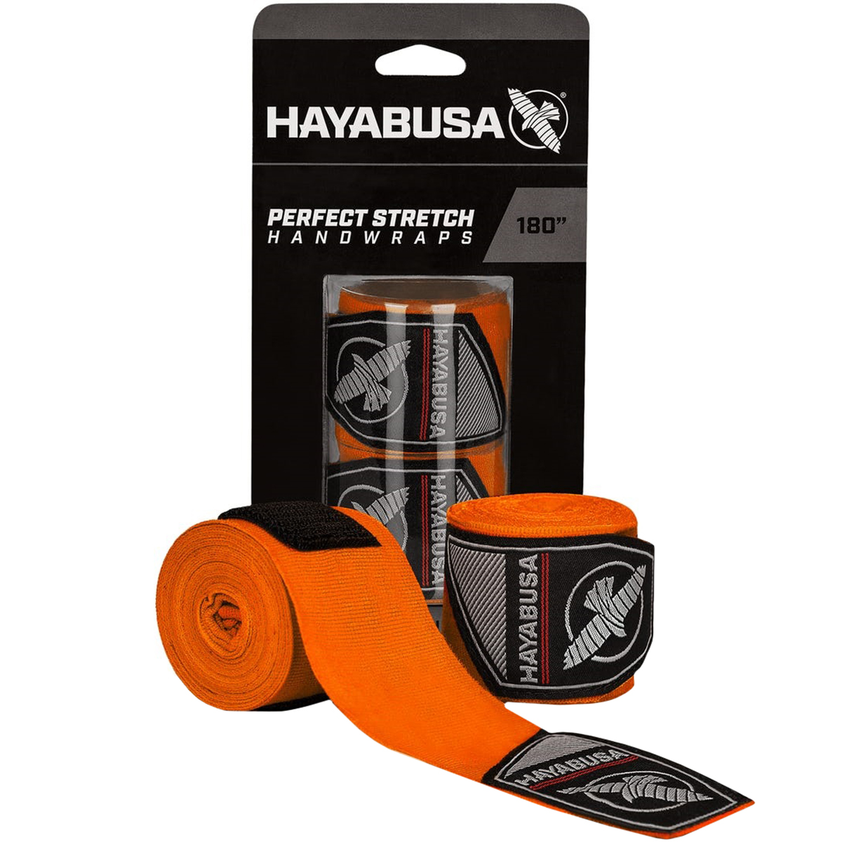 """Hayabusa Perfect Stretch 3 Premium Hook and Loop Mexican-Style Handwraps - 180"""""""