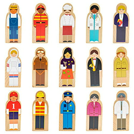 - Imagination Generation Little Professionals Wooden Career Character Set