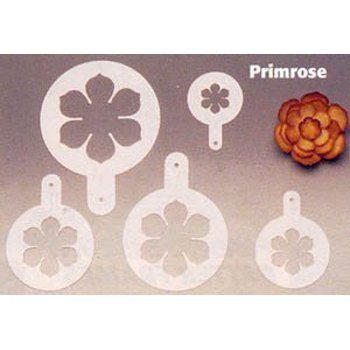 5-Piece Pavoni Decorating Stencil